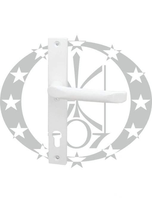 Ручка FAM Jupiter (45.21.200P/201L) вузька 92 PZ біла з пружиною