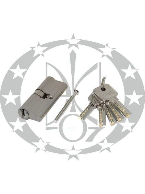 Серцевина GMB горизонтальний ключ 30/30 вороток нікель