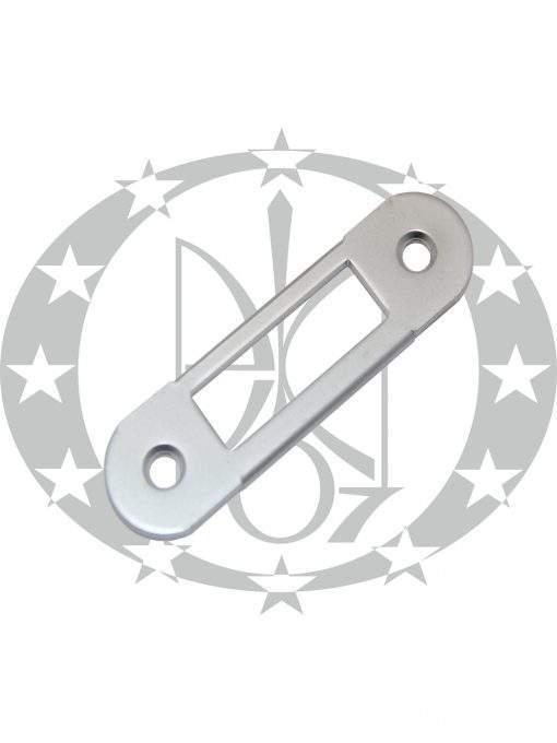 Планка до замка AGB Mediana/Centro хром сатинований (B01000.40.34) пряма