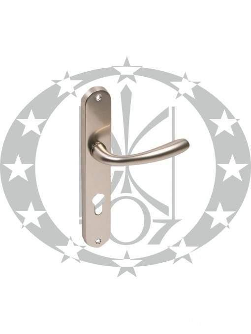 Ручка дверна Metal-Bud MARS 72 PZ нікель сатин
