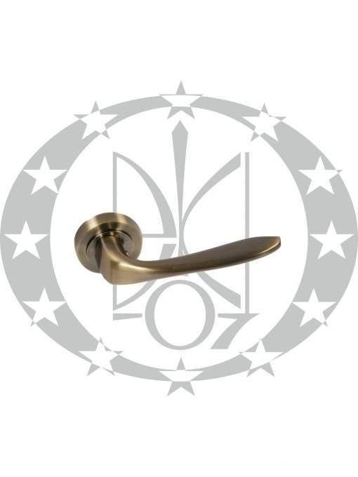 Ручка дверна Metal-Bud VENUS (ZVOP) розета бронза