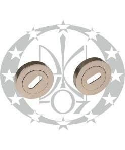 Дверна накладка під ключ Metal-Bud VENUS нікель сатин