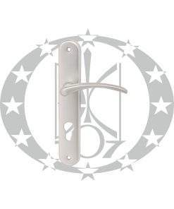 Ручка Metal-Bud ALX-1 72 PZ срібна