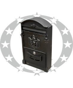 Скринька поштова AMIG mod.4 чорна (12212)