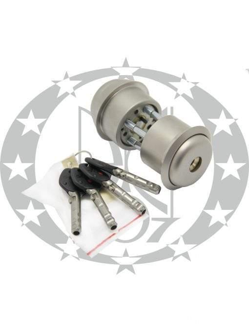 Серцевина GERDA RIM6000SX 4 ключі нікель сатин