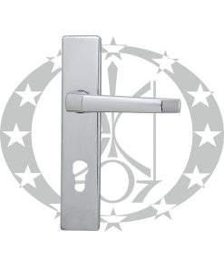 Ручка дверна Metalplast-Częstochowa K-72 210 мм 72 PZ нікель