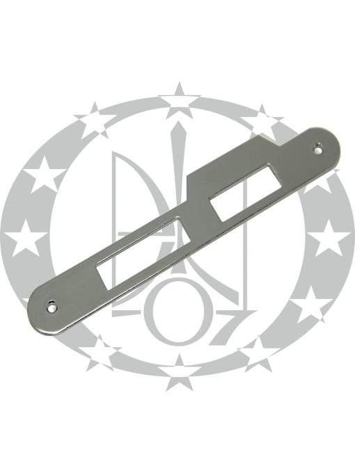 Пряма коротка планка до замка AGB Centro нікель (B01000.05.06)