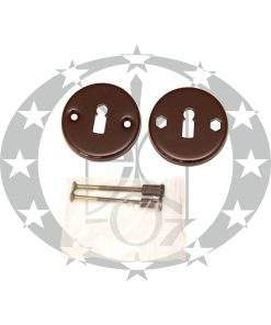 """Дверна накладка ключ """"Нова"""" коричнева"""