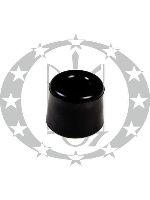 Дверний обмежувач малий чорний
