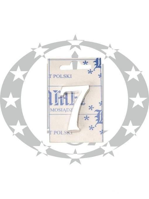 Знак малий цифра 7 хром