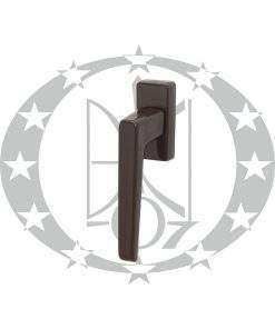 Ручка віконна DR пластикова коричнева