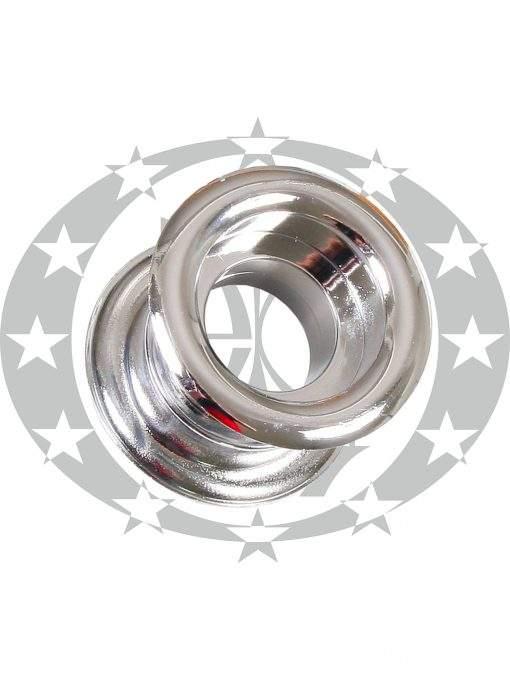 Пластикова вентиляція кругла нікель