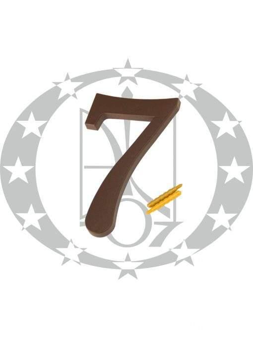 """Цифра велика пластикова """"7"""""""