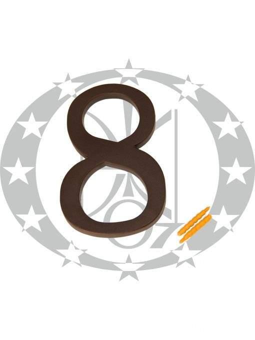 """Цифра велика пластикова """"8"""""""