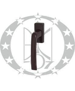 Ручка віконна DR металева коричнева