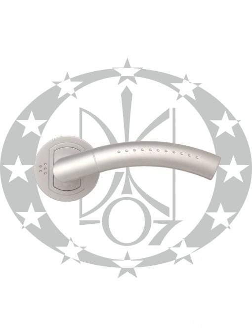 Ручка дверна Nomet GEMINI T-661-112/06B розета (G6)