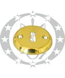 Накладка під ключ латунь лакована