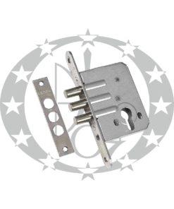 Механізм верхній 3 ригелевий GERDA ZW - 500 цинкований білий
