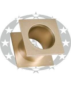 Пластикова вентиляція WC квадратна G5