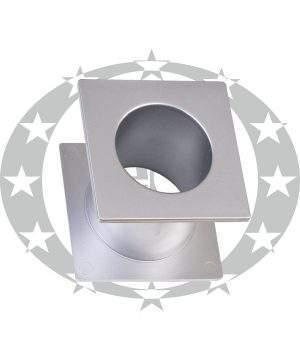 Пластикова вентиляція WC квадратна G6