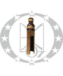 Накладка на завіси Ф20 декоративна бронза