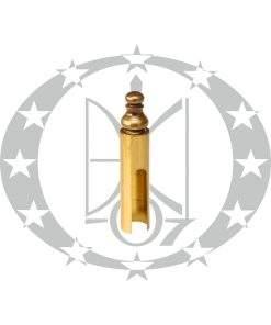 Накладка Ф15 декоративна латунь сатин