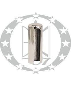 Накладка плоска Ф15 хром пластикова