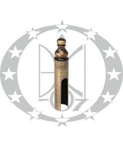 Накладка на завіси Ф15 декоративна бронза