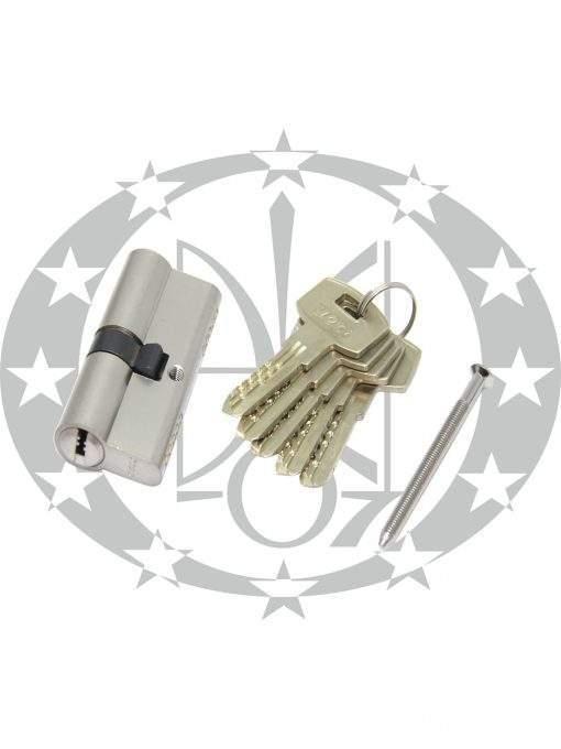 Серцевина LOB Yeti 40/45 горизонтальний ключ нікель