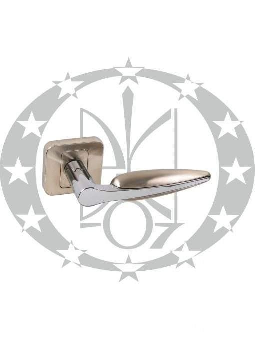 Ручка дверна Nomet ADONIS T-1331-120 розета (G8/G2)