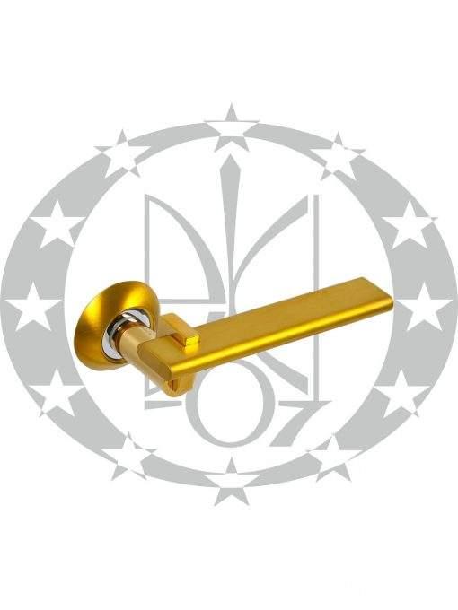 Ручка дверна ARCHIE AH-10133 CCCA золото