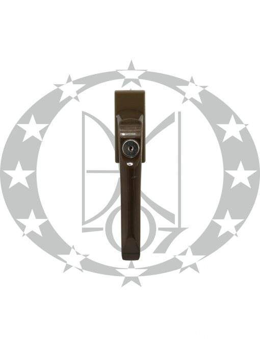 Ручка віконна DR FAM металева PZ бронза (45.21.031)