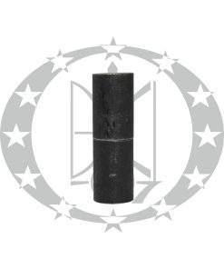Завіс ЦеКо Ф25 точений зміщений чорний