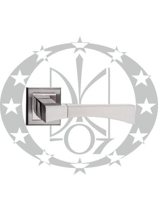Ручка Metal-Bud GAMA (ZGKN) квадратна розета нікель сатин
