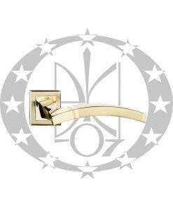 Ручка Metal-bud ALFA квадратна розета латунь
