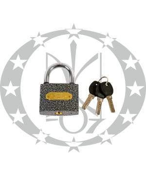 Навісний замок колодка ABASIN №63 горизонтальний ключ