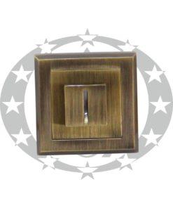 Дверна накладка Metal-Bud ALFA WC (SZKPW) бронза
