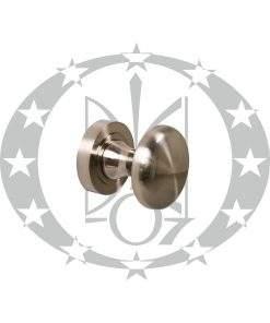 Ручка дверна Metal-bud півгалка універсальна нікель