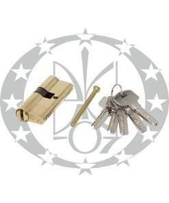 Серцевина A&B горизонтальний ключ 30/40 латунь