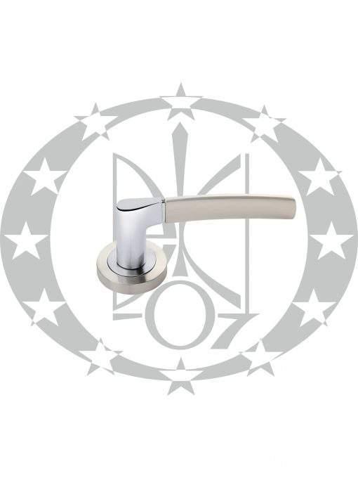 Ручка дверна Nomet ADULAR DH-96A-24Z-04-07-BL розета