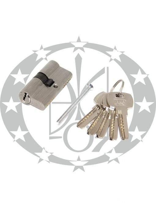 Серцевина A&B горизонтальний ключ 30/30 нікель