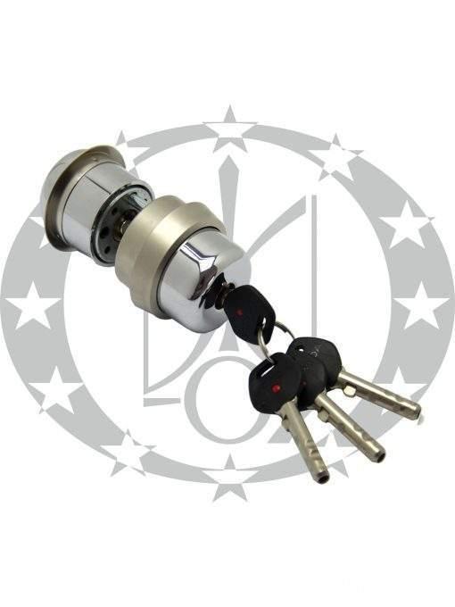 Серцевина GERDA RIM6000S 4 ключі нікель сатин