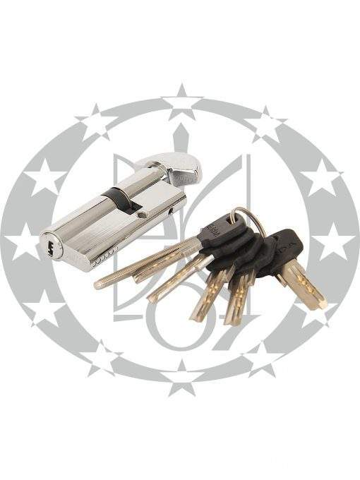 Серцевина GERDA WKM-1 30/45 горизонтальний ключ вороток хром