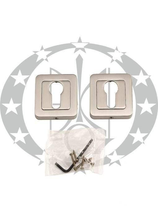 Дверна накладка Metal-Bud IBIZA PZ нікель сатинований (SZZNY)