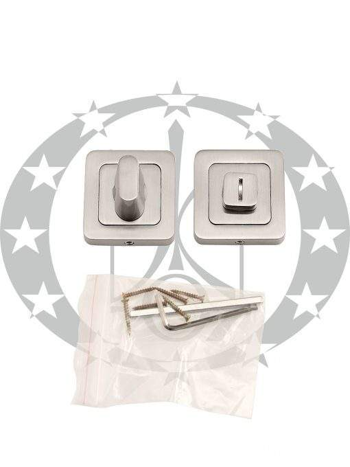 "Дверна накладка Metal-Bud ""IBIZA"" WC нікель сатинована"