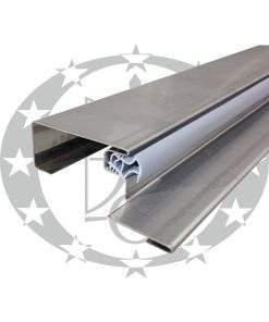 """Поріг металевий асиметричний """"GERDA"""" TA2 90E gr.32 до TT, GTT (PERFOTERM)"""
