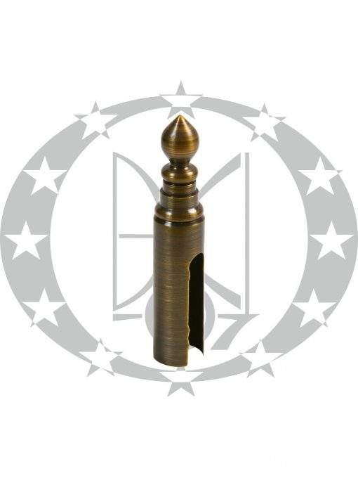 Накладка на завіси Ф20 Рбронза декорована