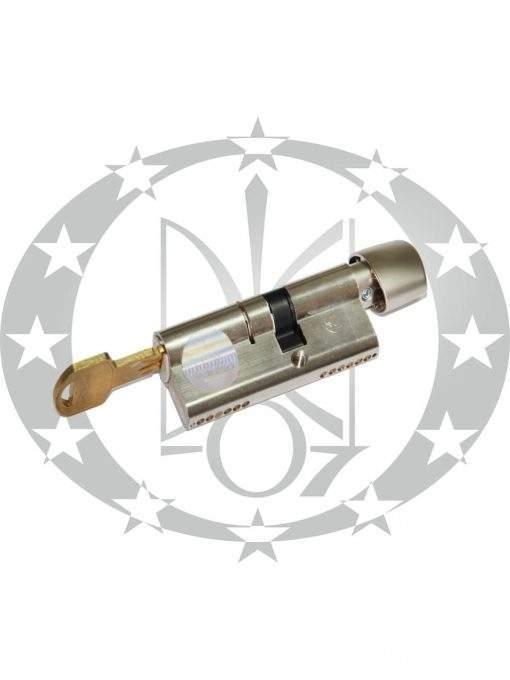 Серцевина GERDA WKM-4 ATEST C 40/55 VARIANT AB вороток нікель сатин