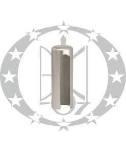 Накладка на завіси Ф14 хром сатинований