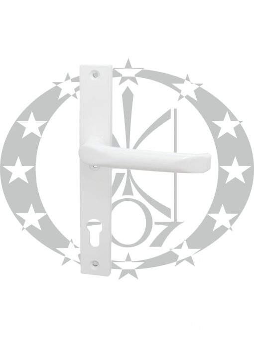 Ручка FAM Jupiter (45.21.110P/111L) вузька 92 PZ біла з пружиною
